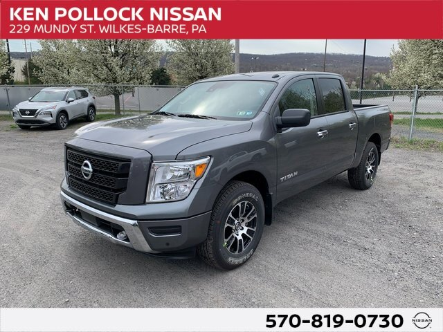 Lease this 2021, Gray, Nissan, Titan, SV