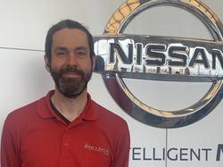 Service Advisor Jason Shannon in Service at Ken Pollock Nissan
