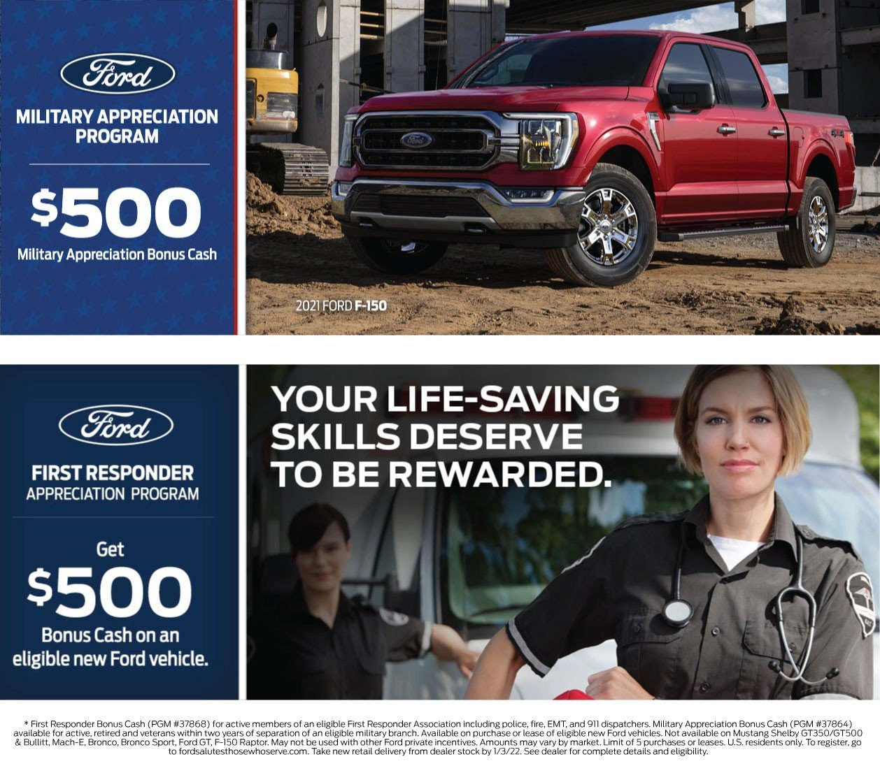 Ford Military Offer 12-2021