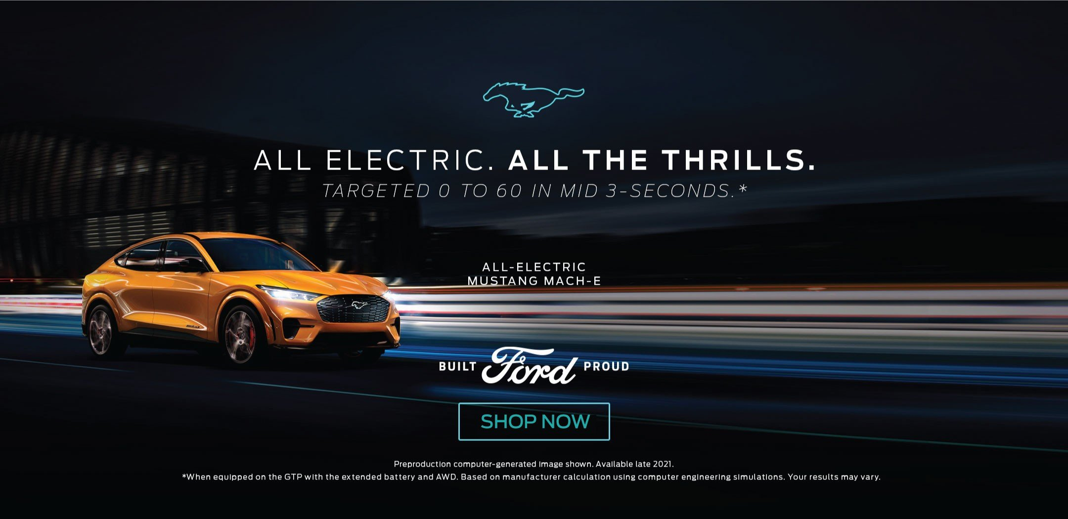 Electric Mustang Mach E Dealer Bozard Ford of St Augustine