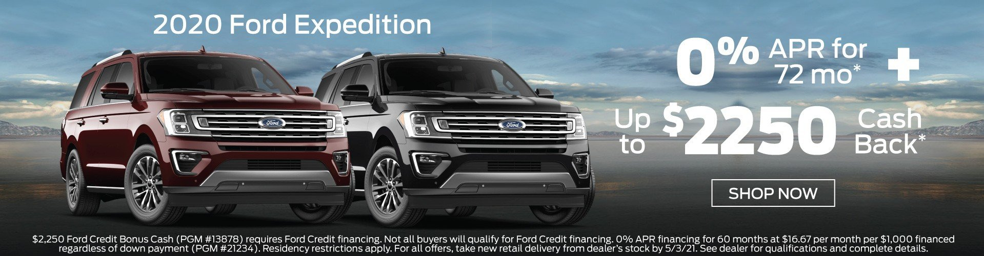 Ford Expedition Incentive 5-3-2021