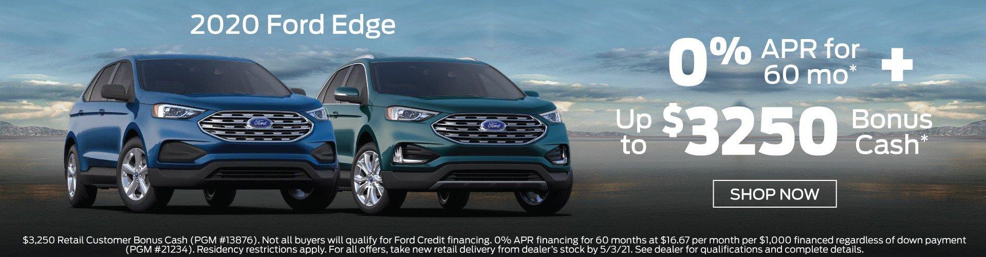 Ford Edge Incentive 5-3-2021