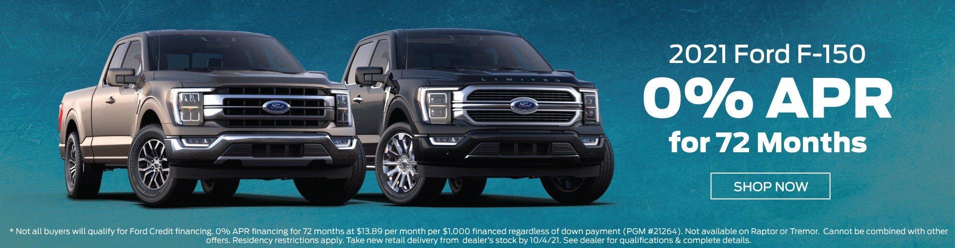 Bozard 2021 Ford F150 Incentive 10-4-2021