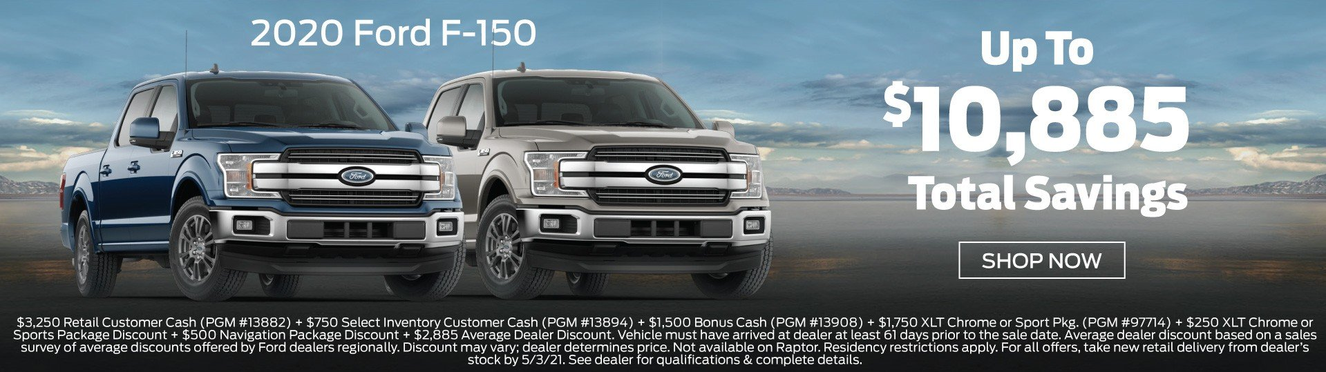 Ford F-150 Incentive 5-3-2021