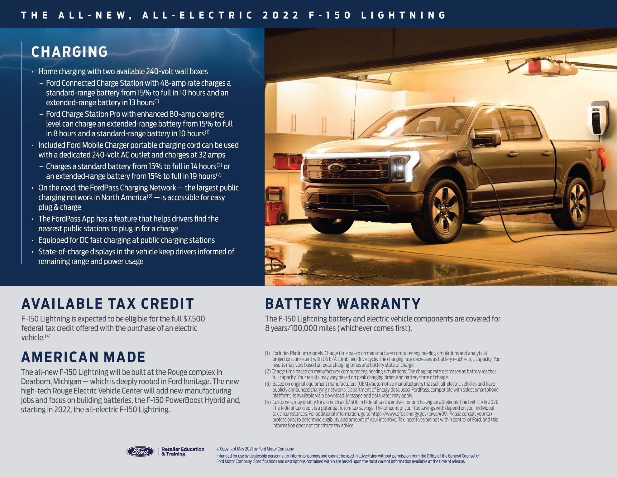 Ford F-150 Lightning Battery