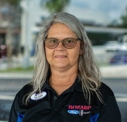 Lot Attendant Pam Austin in Sales at Bozard Ford Lincoln