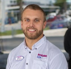 Pre-Owned Sales Director Tom Reinard in Sales at Bozard Ford Lincoln