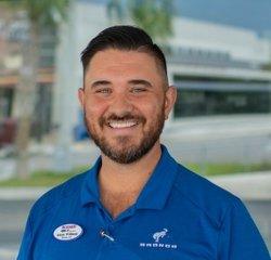 New Car Sales Director Adam Williams in Sales at Bozard Ford Lincoln