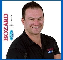 Vehicle Guide Colton Farley in Sales at Bozard Ford Lincoln