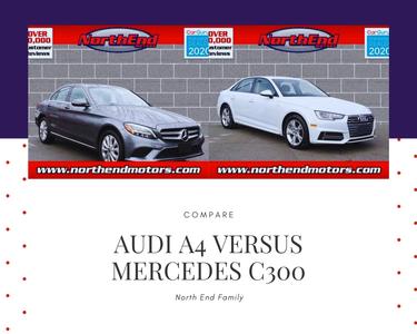 Mercedes C 300, Audi A4, compare, A4 versus C 300, luxury sedan