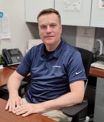 Lead Business Manager Tom Nerreau in Finance at Garavel Subaru