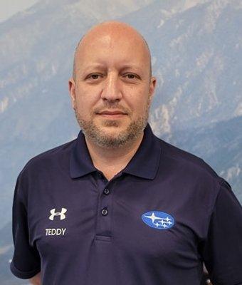 Sales Manager Teddy Mochlas in Sales at Garavel Subaru