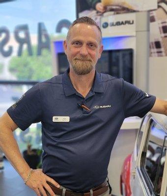 Pre Owned Sales Manager Logan Hankins in Sales at Garavel Subaru