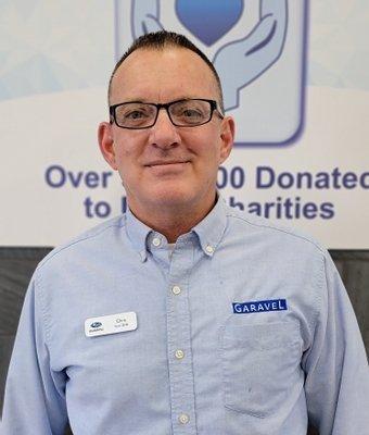 Certified Sales Consultant Chris Scarlett in Sales at Garavel Subaru