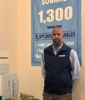 Assistant Service Manager Ronnie Goss in Service at Garavel Subaru