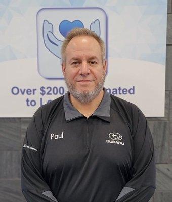 General Sales Manager Paul Albert in Sales at Garavel Subaru