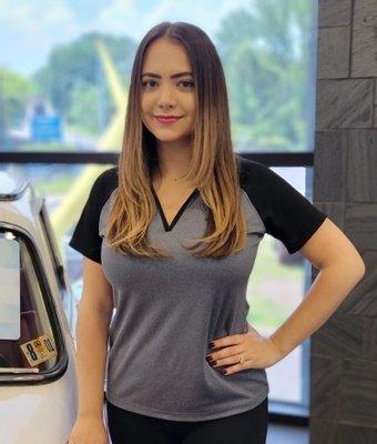 Certified Sales Consultant Diana Kalmykova in Sales at Garavel Subaru
