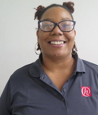Service Advisor Victoria Garrett in Service at Hawkinson Kia
