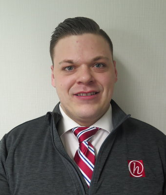 Finance Manager Matt Bucey in Finance at Hawkinson Kia