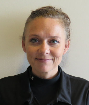 Service Manager Amy Daly in Service at Hawkinson Kia