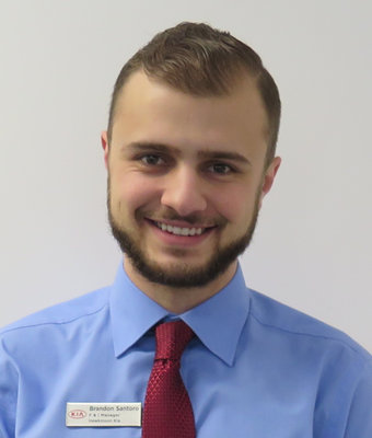 General Sales Manager Brandon Santoro in Sales Management at Hawkinson Kia