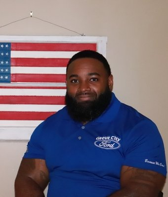Sales Consultant Kyle Ficklin in Sales at Grove City Ford