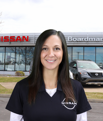 Owner Loyalty Manager Kathy Melnik in Management at Boardman Nissan