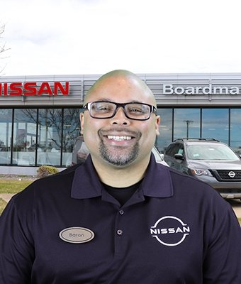 Sales Consultant Baron Reynolds in Sales at Boardman Nissan
