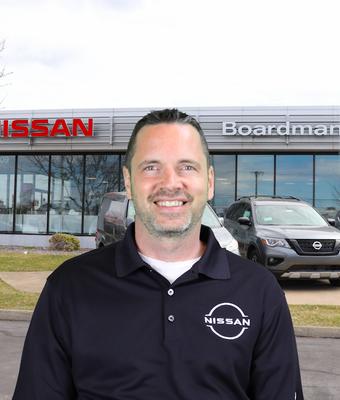 Sales Consultant Chris Jevcak in Sales at Boardman Nissan