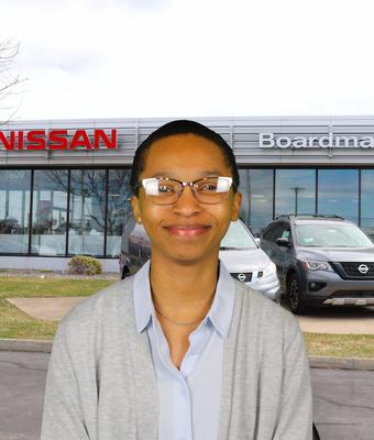 Title Clerk Sky Bultron in Administration at Boardman Nissan