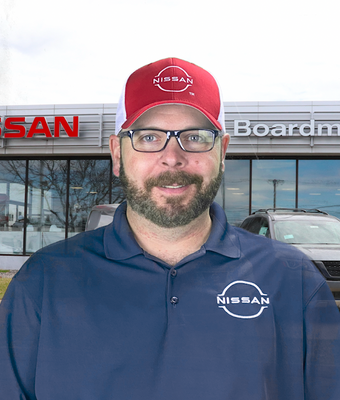 Parts Manager Brian Burkey in Parts at Boardman Nissan