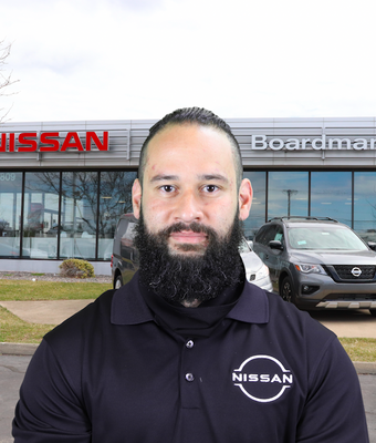 Sales Consultant Anthony DeArce in Sales at Boardman Nissan