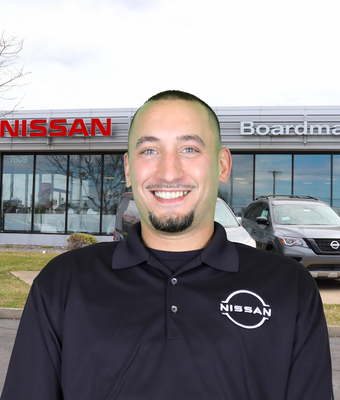 Used Car Manager Cliff Adams in Sales at Boardman Nissan