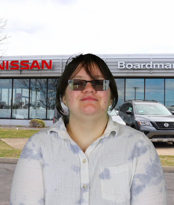 Accounts Payable Clerk Kristina Andersson in Administration at Boardman Nissan