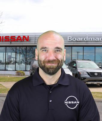 Sales Consultant Joe Vanazia in Sales at Boardman Nissan