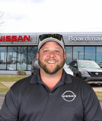 Used Car Manager Anthony Secrest in Sales at Boardman Nissan