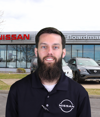 Business Director Levi Sharp in Finance at Boardman Nissan