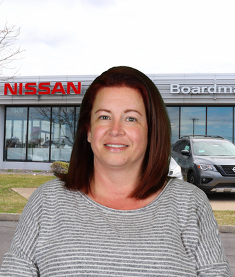 Office Manager Kate Elliott in Administration at Boardman Nissan