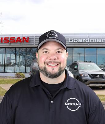 "Sales Manager ""Big John"" Eackelbary in Sales at Boardman Nissan"