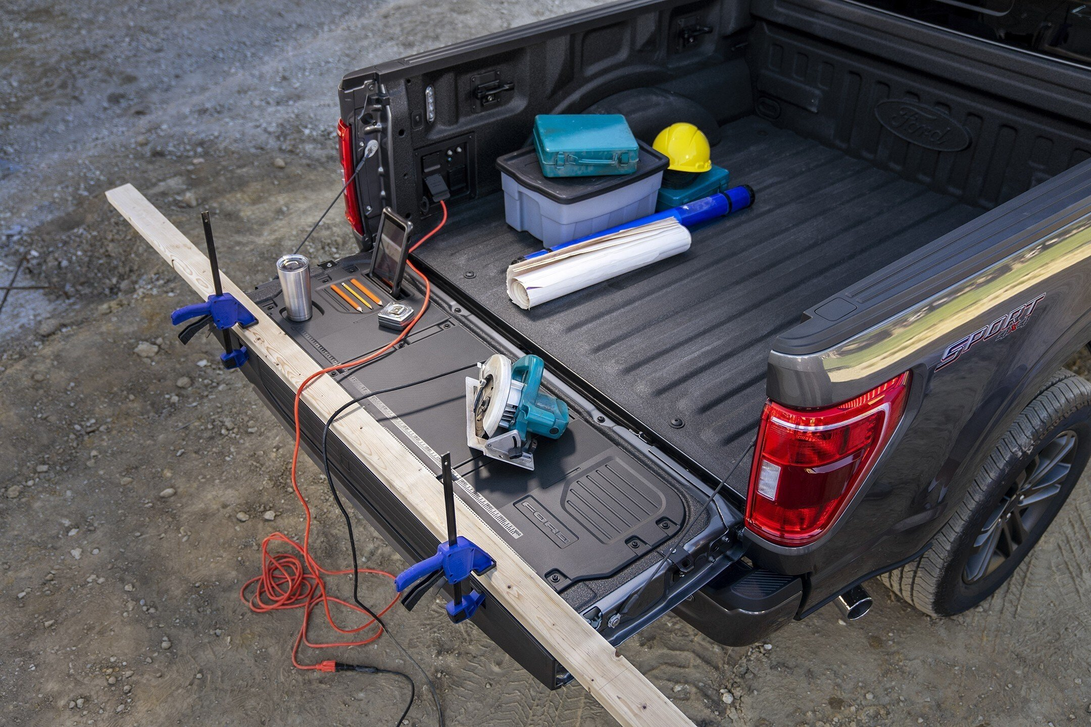 2021 F-150 redesigned tailgate