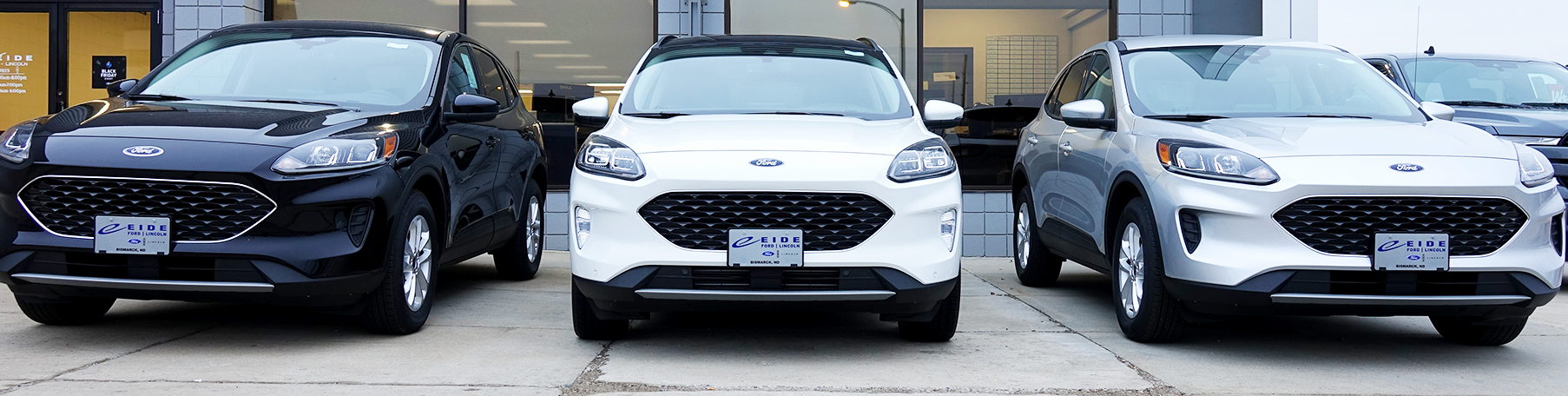 New Ford Escapes at Eide Ford in Bismarck