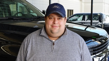 Chris Hill, Salesperson at Eide Ford in Bismarck, North Dakota