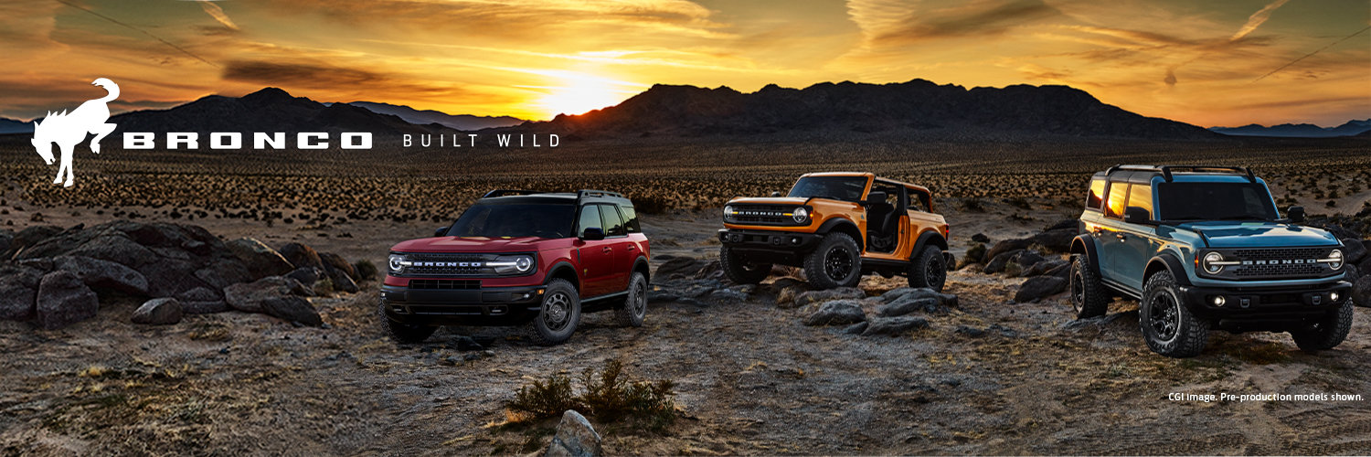 New 20201 Ford Bronco