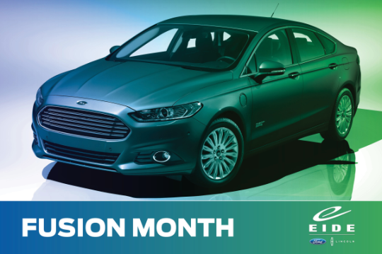 Ford Fusion at Eide Ford
