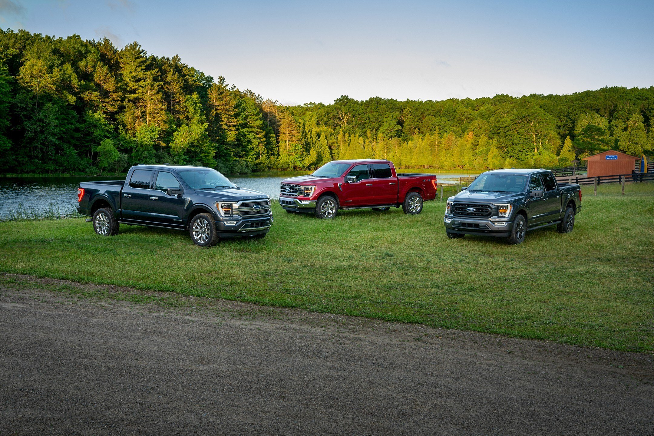 New lineup of 2021 Ford F-150s