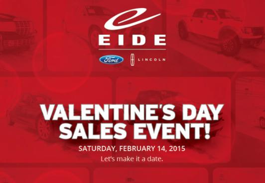 Valentine's Day Sale graphic
