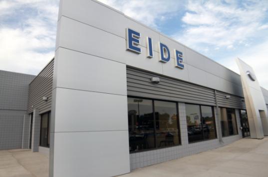 exterior of the Eide Ford dealership in Bismarck