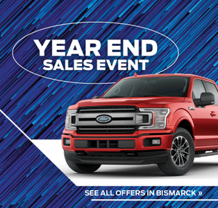 Ford Year End Sales Event in Bismarck