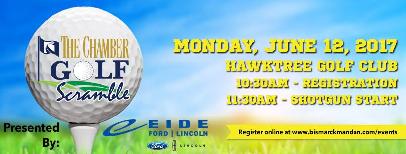 Check out the Chamber Golf Scramble, coming up on Monday!
