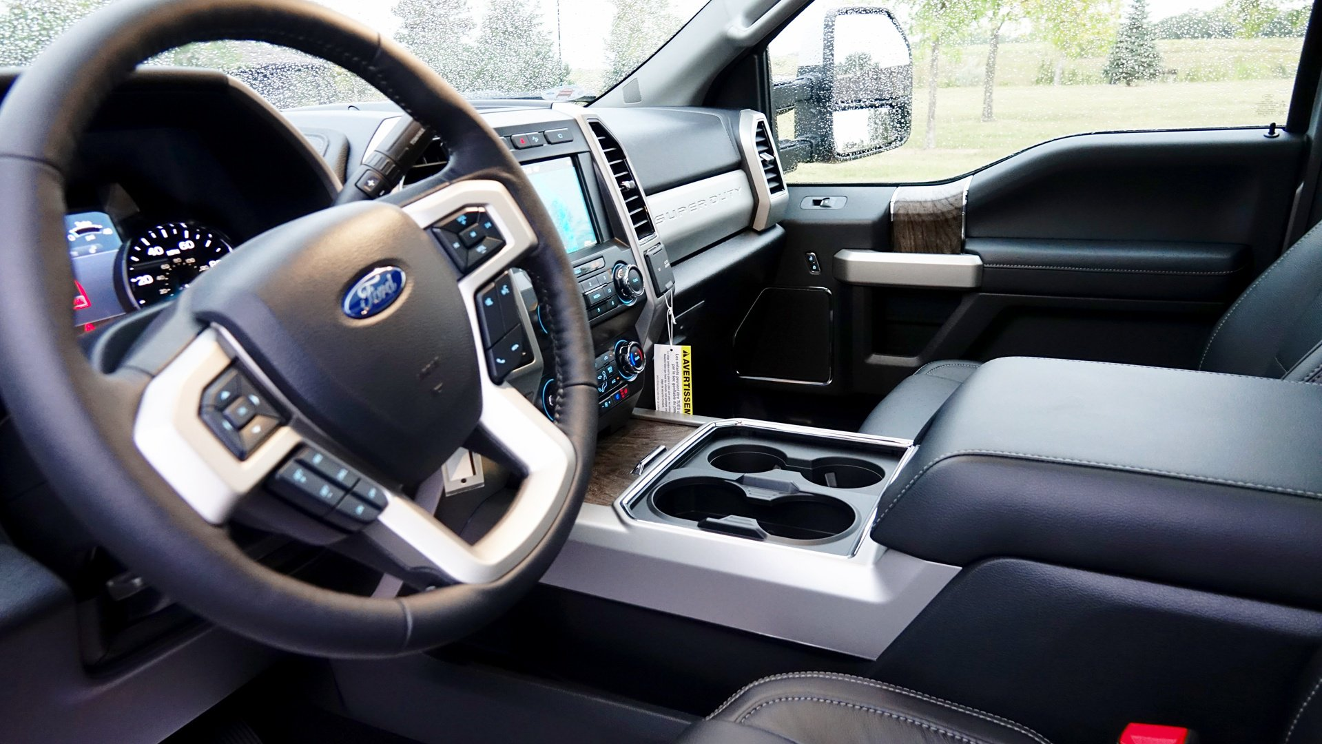 250 super duty interior